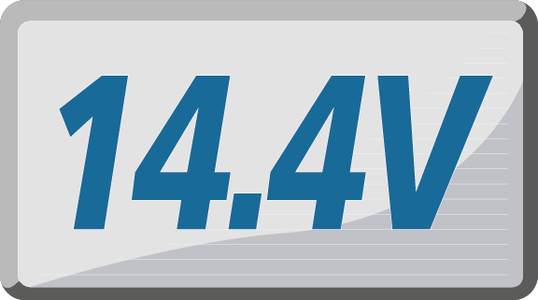 14.4 V
