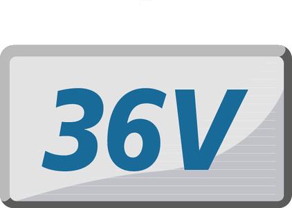 36.0 V