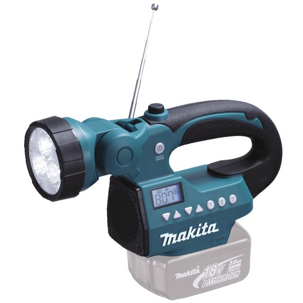 Radio con lampada LED 14.4V/18V Li-Ion
